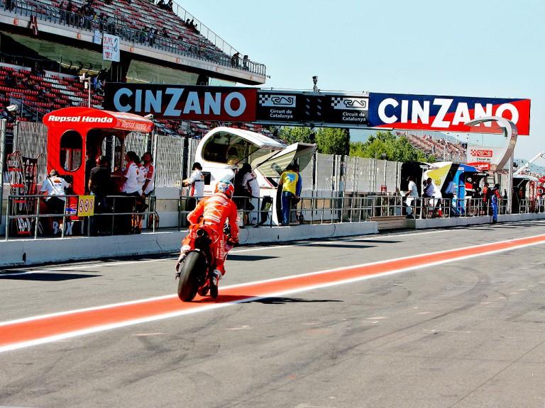 Pit Lane of Circuit de Catalunya
