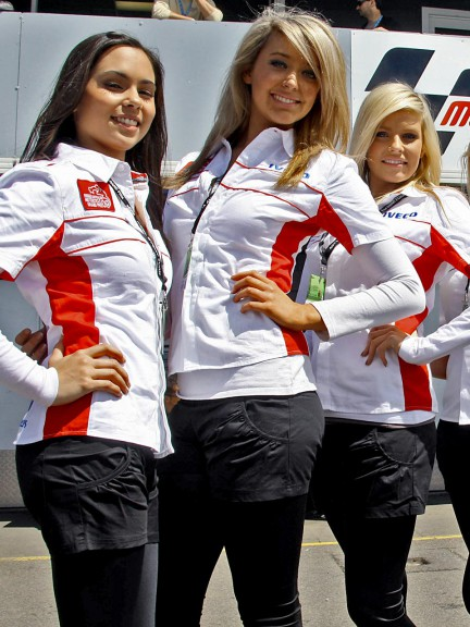 Paddock Girls at the Iveco Australian Grand Prix