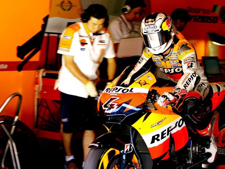 Andrea Dovizioso set lo leave the Repsol Honda garage
