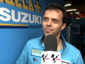 Capirossi on GSV-R development