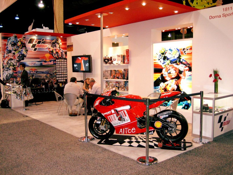 MotoGP on display in Las Vegas