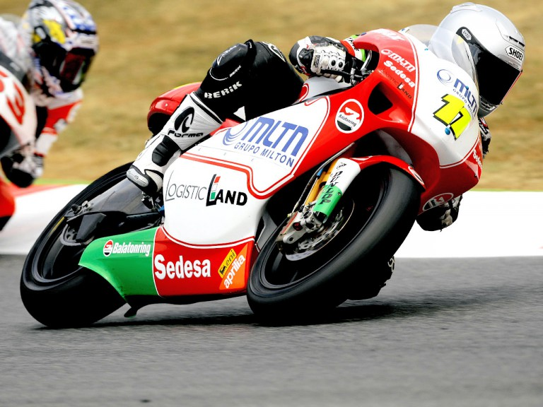 Balazs Nemeth in action in Montmeló