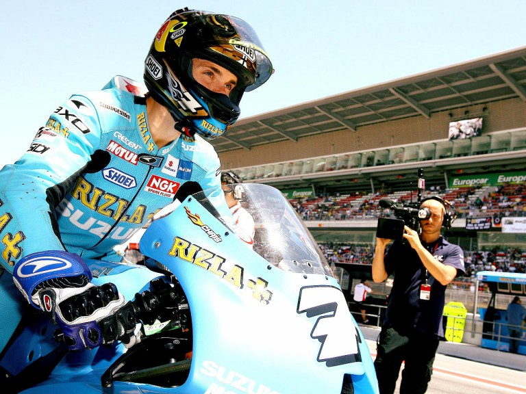 Chris Vermeulen at the pit lane
