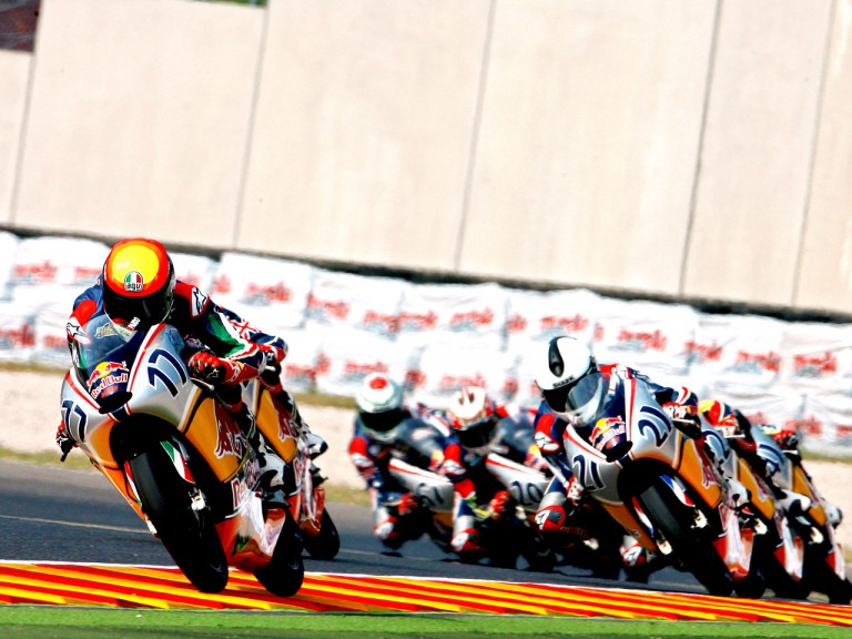Red Bull Rookies in action