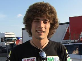 Simoncelli pleased with MotoGP prospects