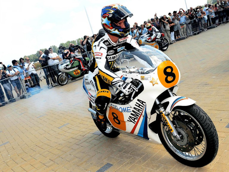Colin Edwards at the Motor Dream EvenTT