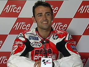 Hector Barbera interview after QP in Assen