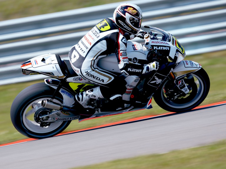 Randy de Puniet in action in Assen