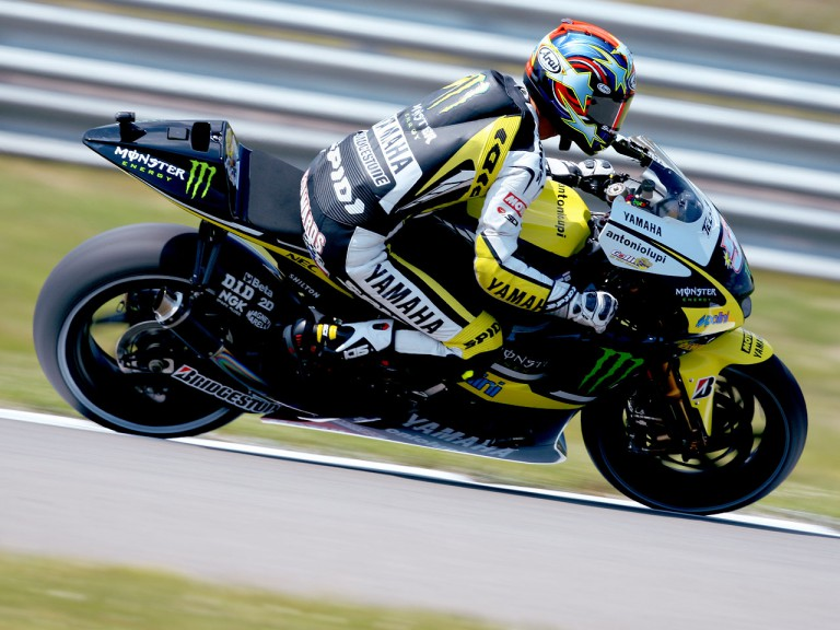 Colin Edwards in action in Assen