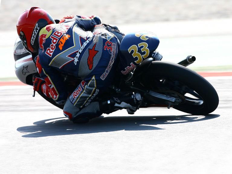 Red Bull MotoGP Sturla Fagerhaug in action