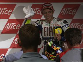 Rossi and Lorenzo post-race press conference in Assen