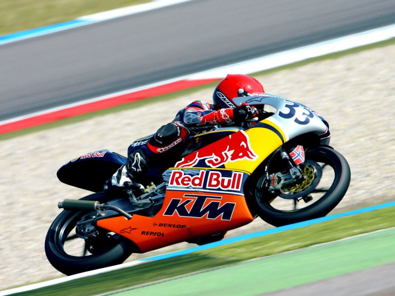 Red Bull MotoGP Sturla Fagerhaug in action