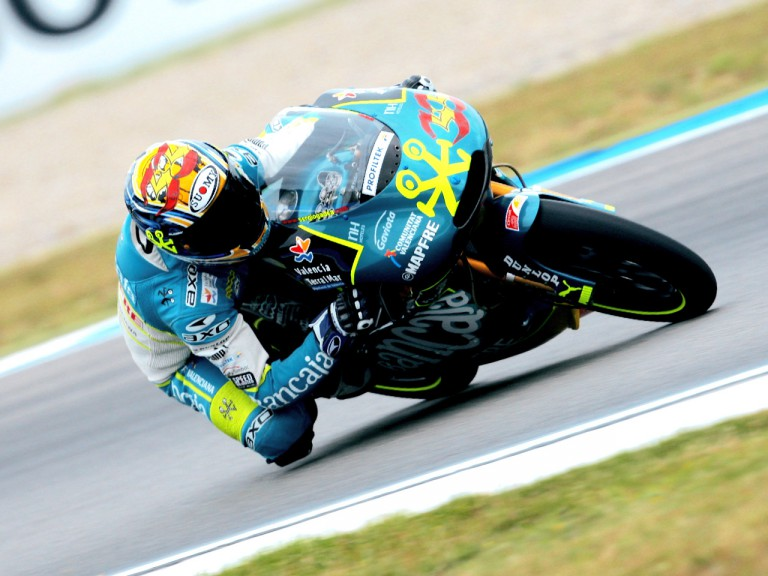 Sergio Gadea in action in Assen