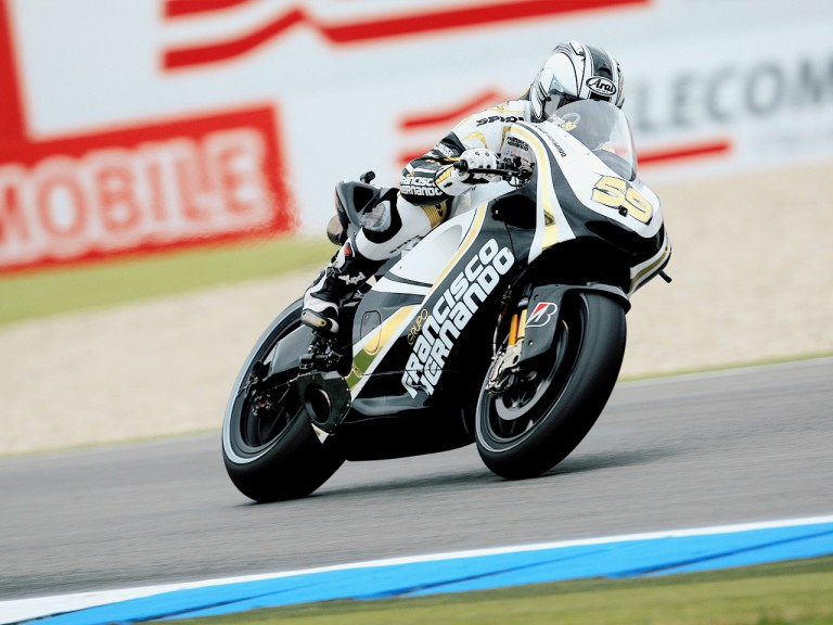 Sete Gibernau in action in Assen