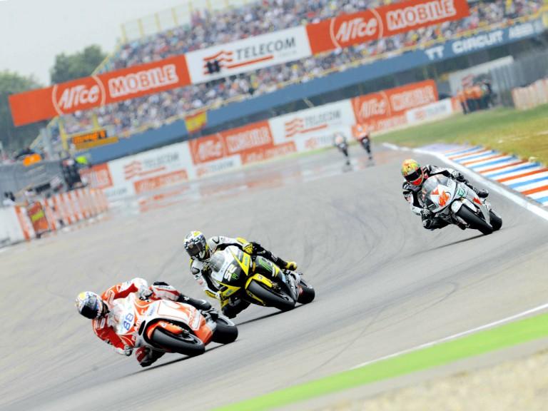 MotoGP group on track in Assen