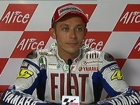 Valentino Rossi interview after race in Assen