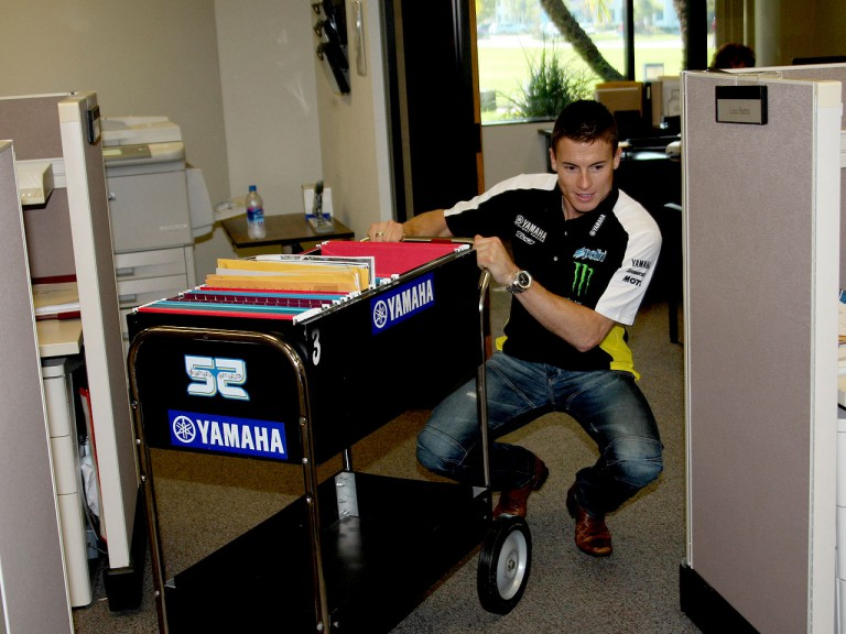 James Tosleand at the Yamaha Motor Company headquarters