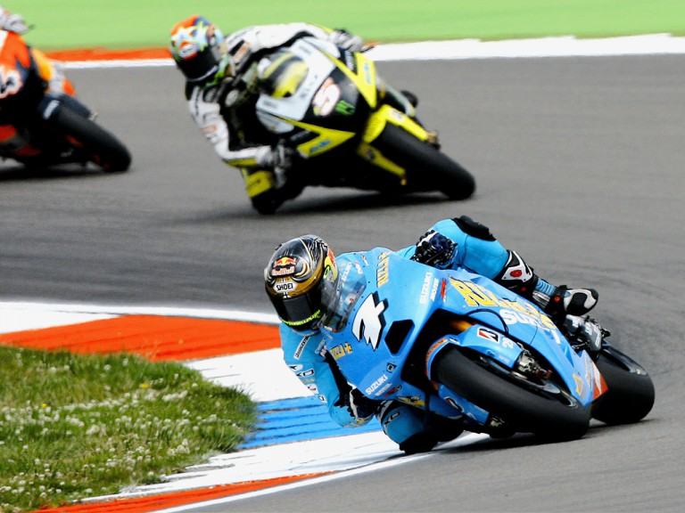 Chris Vermeulen on track in assen