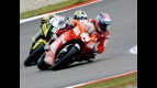 Nicky Hayden riding ahead of James Toseland in Assen