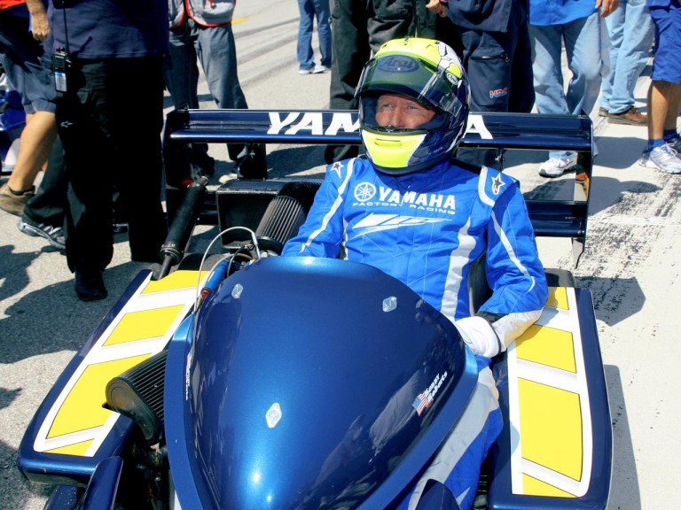 MotoGP Legend Kenny Roberts Sr. in SuperKart at Laguna