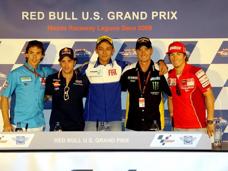 MotoGP Riders at the Red Bull U.S. Grand Prix press conference