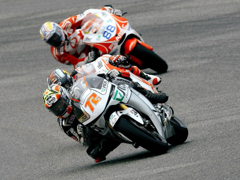 Yuki Takahashi in action in Mugello