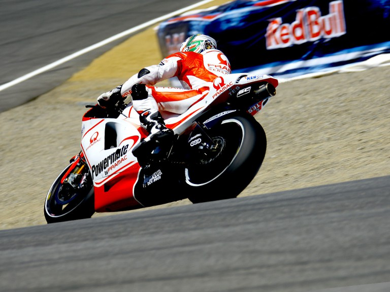 Niccolò Canepa in action at the Red Bull U.S. Grand Prix