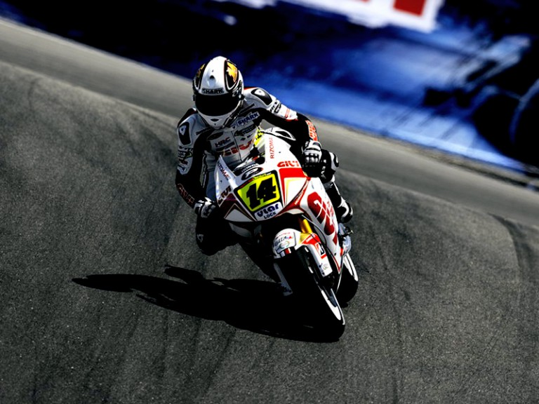 Randy de Puniet in action in Laguna Seca