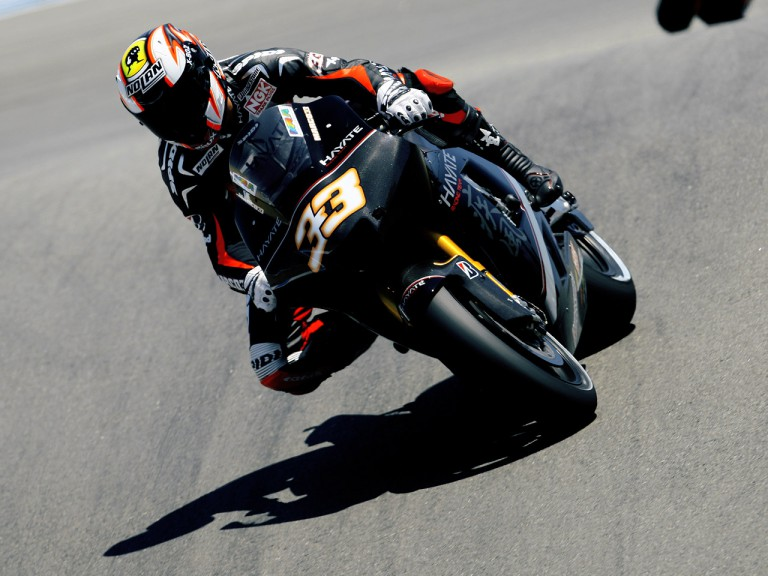 Marco Melandri on track at the Red Bull U.S. Grand Prix