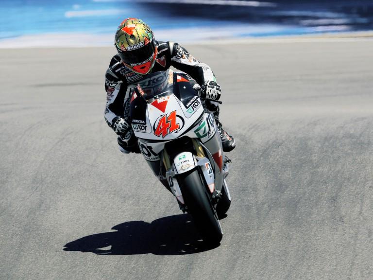 Gabor Talmacsi in action at the Red Bull U.S. Grand Prix