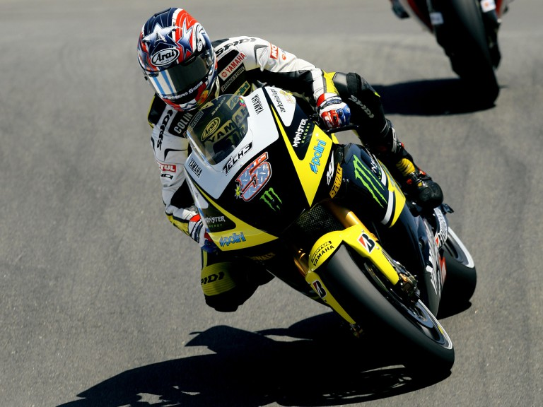 Colin Edwards in action at the Red Bull U.S. Grand Prix
