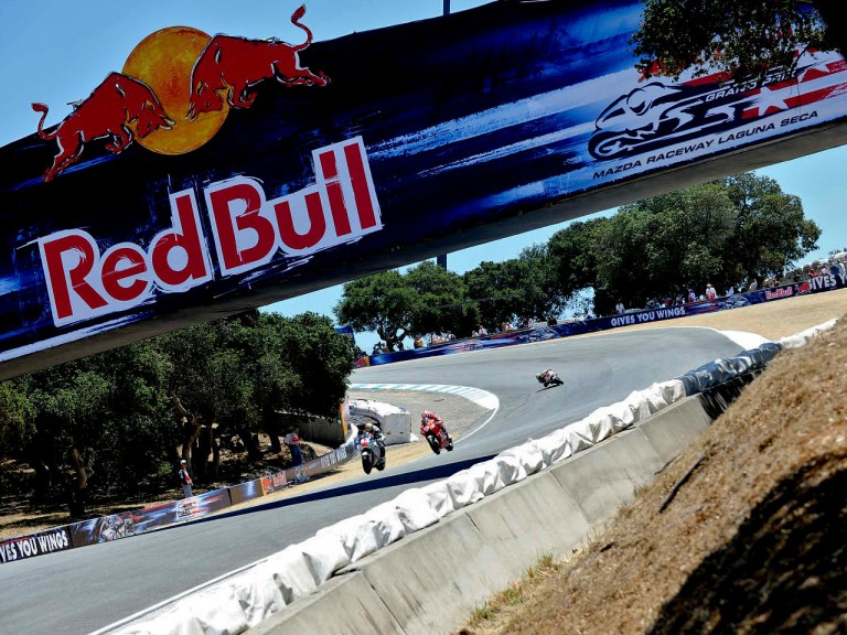 MotoGP Group in action at the Red Bull U.S. Grand Prix