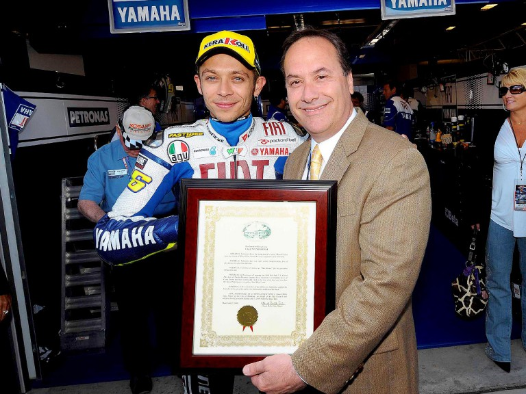 5th July Declared Valentino Rossi Day in Monterey Count