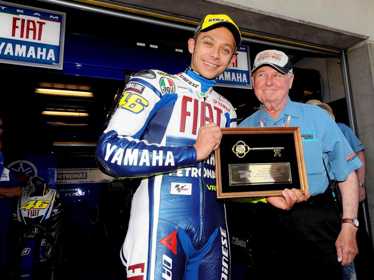 SCRAMP Award Rossi key to Laguna circuit