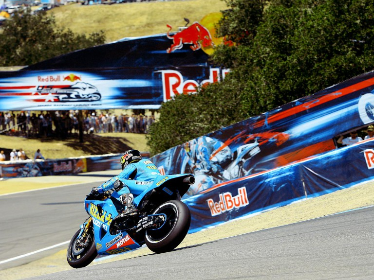 Chris Vermeulen in action in Laguna Seca