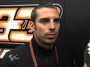 Melandri on coming home tenth