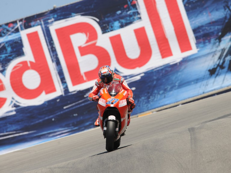 Casey Stoner at the Red Bull U.S. Grand Prix