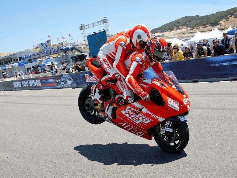 MotoX2 Ducati at the Red Bull U.S.GP
