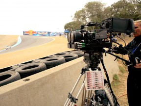 HD 3D Camera on track at the Red Bull U.S. Grand Prix
