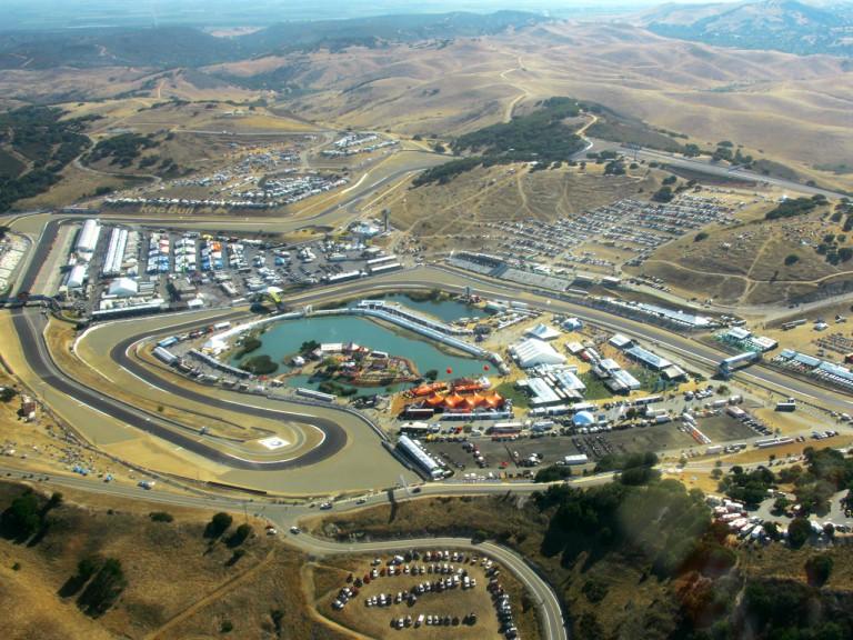 Arial view of Laguna Circuit