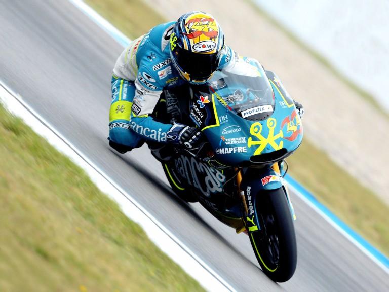 Sergio Gadea in action