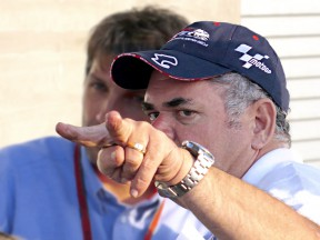 Vince Pace directing 3D Camera at the Red Bull U.S. Grand Prix