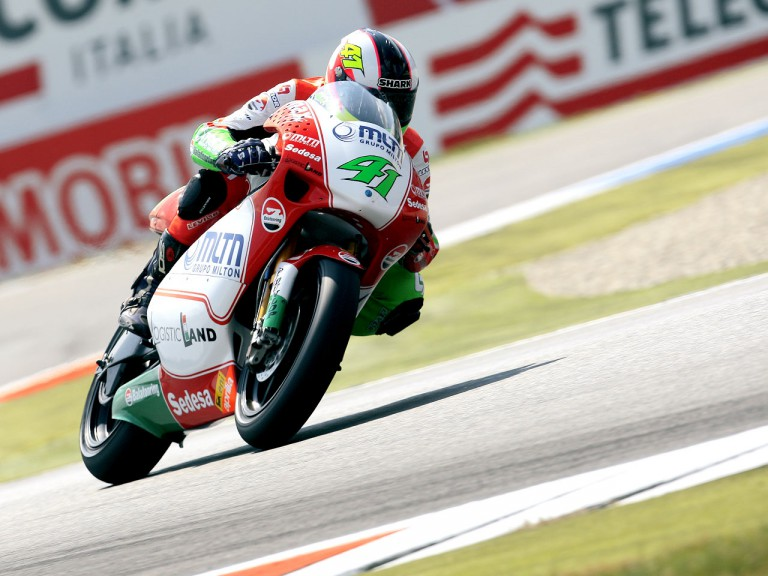 Aleix Espargaró in action