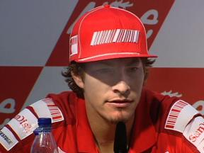 Hayden in German press conference