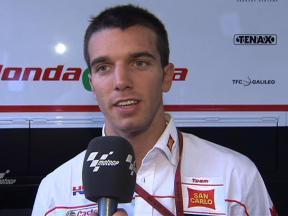 De Angelis Italian MotoGP FP1 verdict