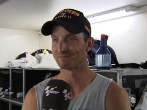 Edwards on Sachsenring practice