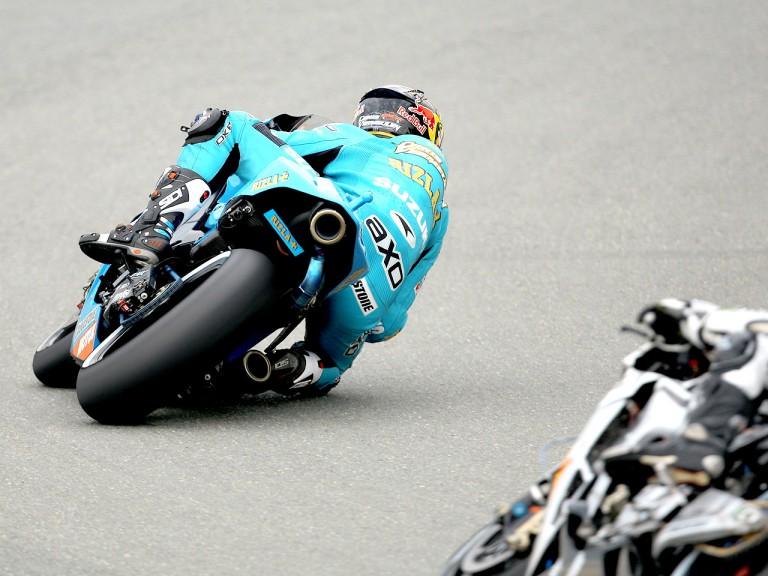 Chris Vermeulen in action in Sachsenring
