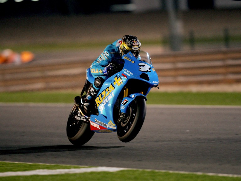 Chris Vermeulen in action in Qatar