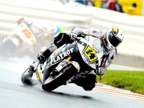 Randy de Puniet in action in Sachsenring