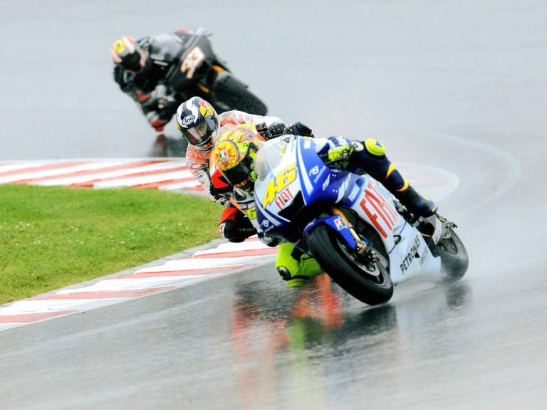 MotoGP action in Sachsenring